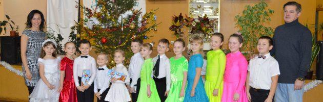 В клубе ЭСТЕТ прошли новогодние открытые уроки для маленьких спортсменов.